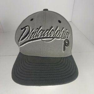Philadelphia Phillies Baseball Hat Cap New Era Adjustable Gray MLB